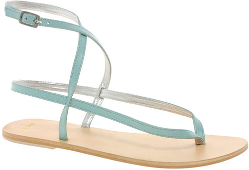 ASOS FINISH Leather Flat Sandals