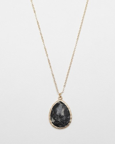The Black Marble Pendant