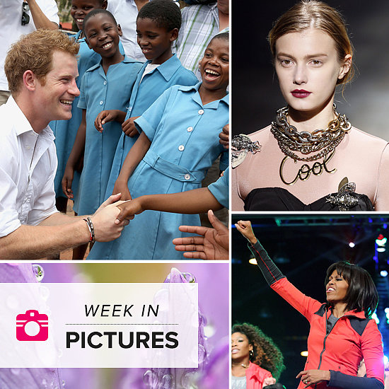 Prince Harry Is Charming, Michelle Jumps For Joy, and Paris Throws a Très Chic Week