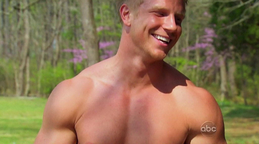 Another episode, another dose of shirtless Sean eye candy.