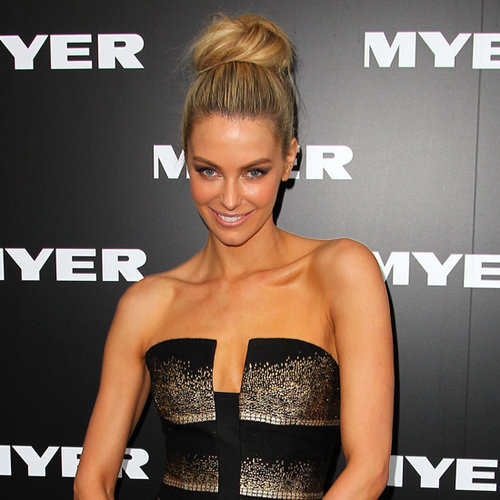 Myer Fashion Show A/W 2013 Red Carpet Celebrity Arrivals