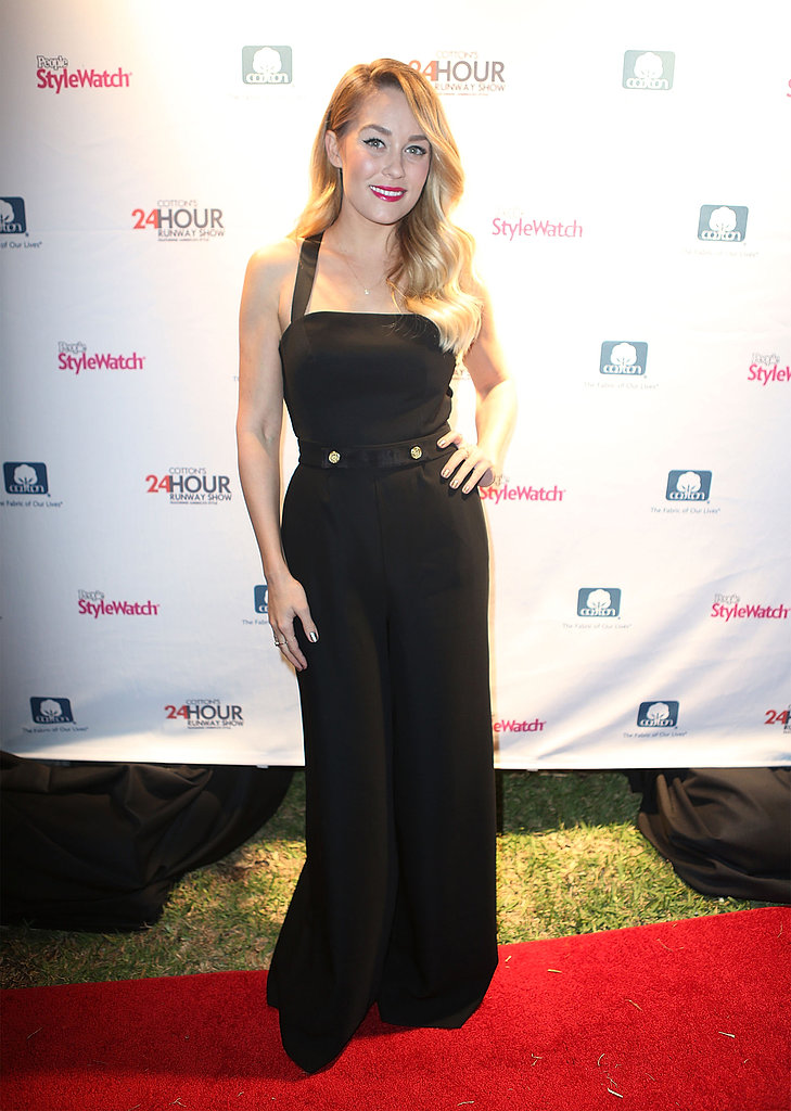 Lauren Conrad Suits Up For Cotton's 24 Hour Runway Bash