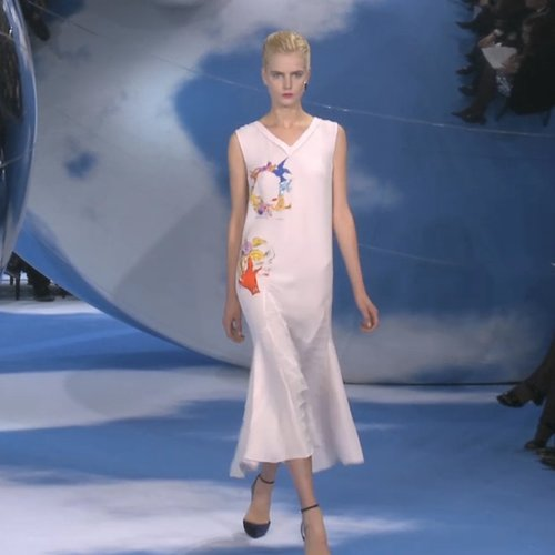 Christian Dior Fall 2013 Runway (Video)