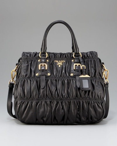 Prada Napa Gaufre Shoulder Bag