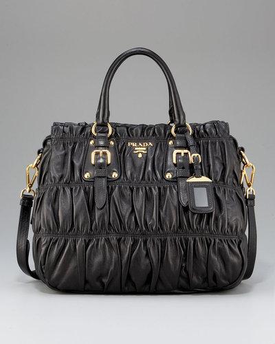 Prada Napa Gaufre Shoulder Bag