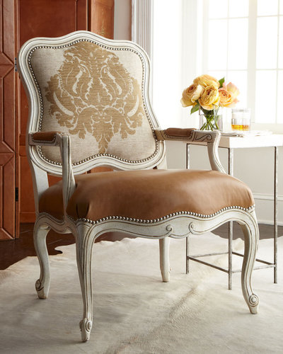 "Massoud Furniture ""Toasted Bisque"" Chair"