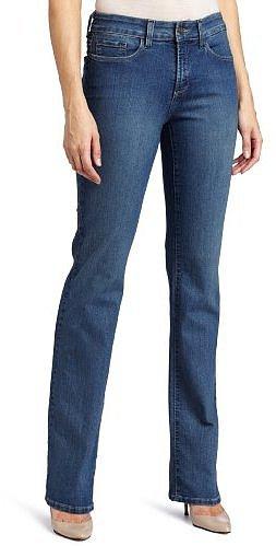 NYDJ Women's Barbara Boot Leg Embellished Back Pocket Jean