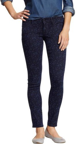 Women&#039;s The Rockstar Floral-Print Skinny Jeans