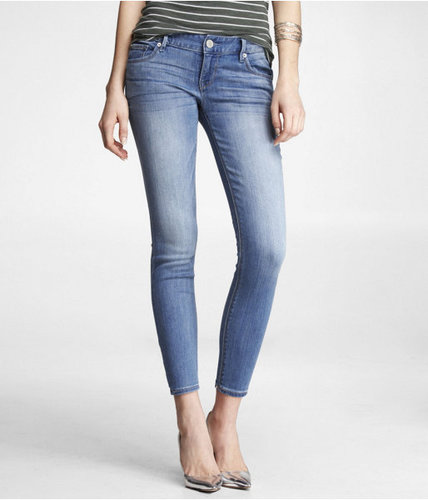 Stella Ankle Jean - Washed Denim