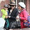 Miranda Kerr and Flynn With Orlando Bloom&#039;s Mom | Pictures