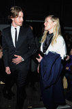 Kirsten Dunst and Garrett Hedlund Sit Front Row For Saint Laurent