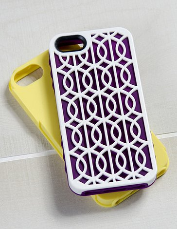 The Cairo three-piece set ($33) for iPhone 5 is fit for Cleopatra.