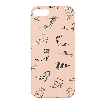 Rep your shoe obsession with the Peach Black Printed Case ($25) for iPhone 5. The print is available on a backup battery case, too.