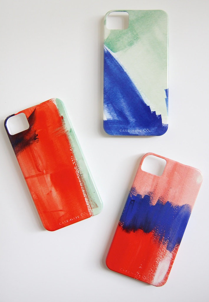 Pick this painterly Watercolor ($40) case for iPhone 4 or 5.