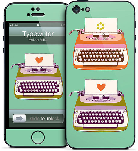 How whimsical! We love this Typewriter iPhone 5 case ($15) — midcentury skin inspired by midcentury design.