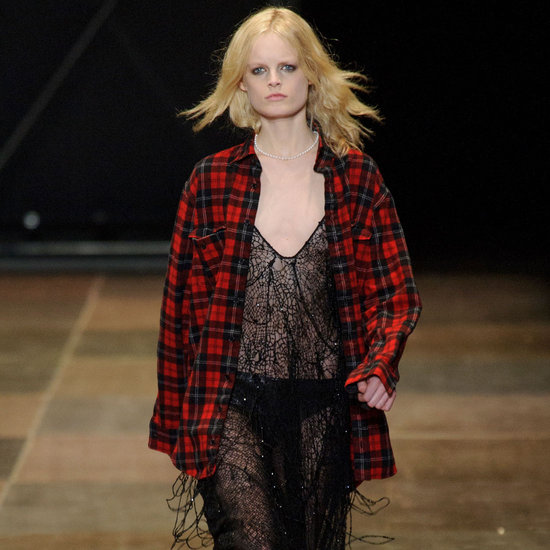 Saint Laurent Fall 2013 Runway