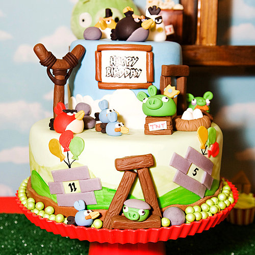 Angry Birds Kid&#039;s Birthday Party