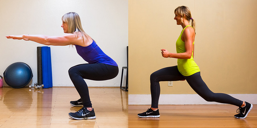 The Square-Off: Squats vs. Lunges!