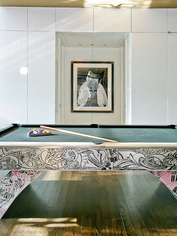 Play a game of pool under the watchful eye of Muhammad Ali. Source: Sotheby's