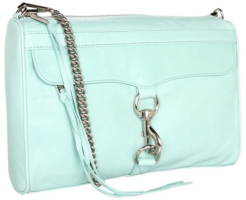 Rebecca Minkoff - M.A.C. Daddy Clutch (Mint) - Bags and Luggage