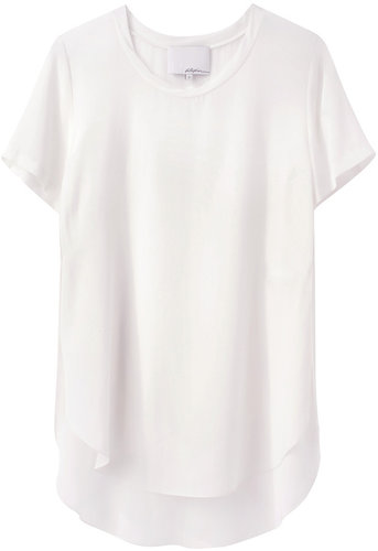 3.1 Phillip Lim / Overlapped Side Seam Tee
