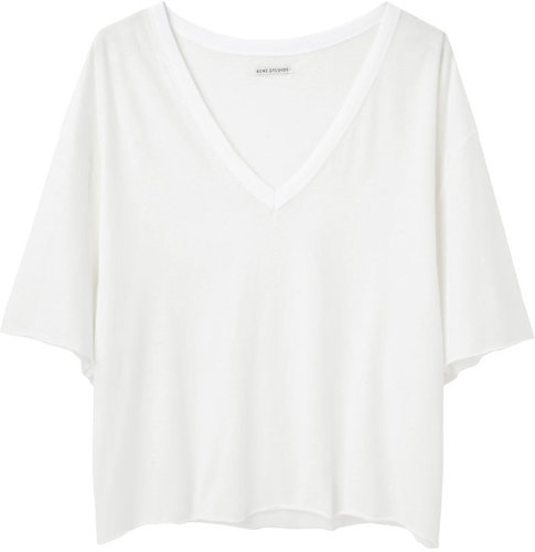 Acne /  Fay Linen Oversized T-Shirt