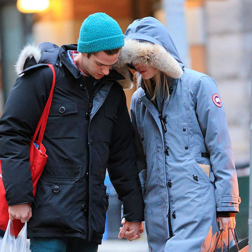 Emma Stone and Andrew Garfield Kiss While Shopping in NYC