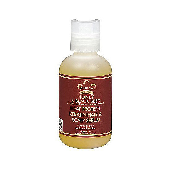 The black seed oil in Nubian Heritage's Heat Protect Keratin Hair and Scalp Serum ($10, originally $12) contains anti-inflammatory, antibacterial, and healing properties, making it perfect for those whose scalps that need a little extra attention. The formula also includes carrot oil, macadamia nut oil, and honey for intense hydration.