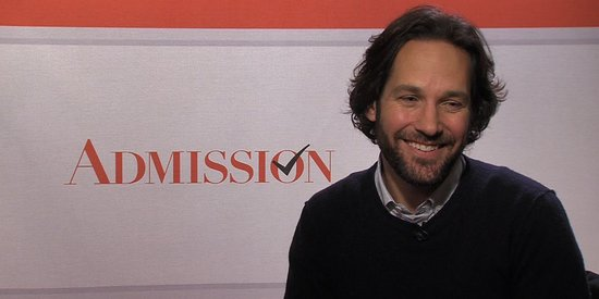 Video: Paul Rudd Tells Us He Signed On to Admission to Meet Tina Fey