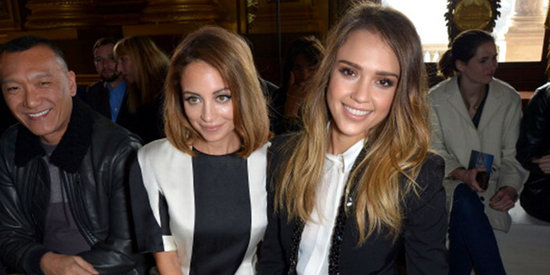 Nicole Richie, Jessica Alba, and More Celebrity Front-Row Looks From Paris Fashion Week