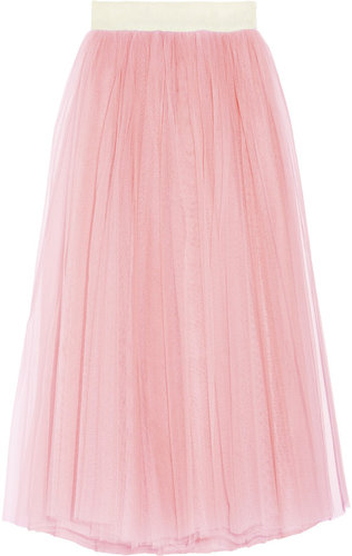 D&amp;G Tulle maxi skirt