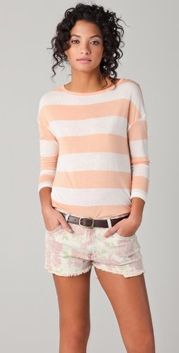 Soft Joie Nash Striped Top