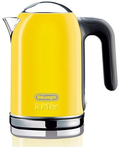 De'Longhi kMix Teakettle, Yellow