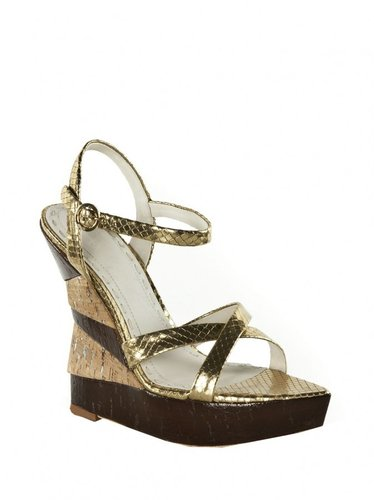 Cate Metallic Viper Wedge