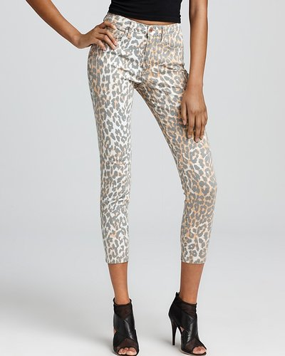 Joe&#039;s Jeans Skinny Jeans - Ankle Skinny Jeans in Leopard