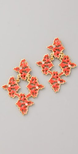 Sachin + Babi Petite Rorschach Emblem Post Earrings