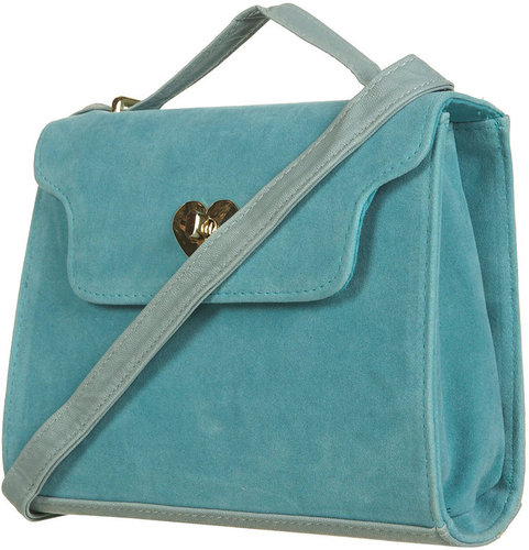 Heart Lock Crossbody Bag
