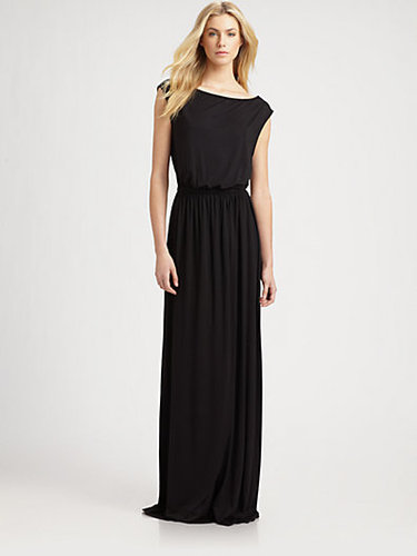 Rachel Pally Boatneck Jersey Maxi Dress