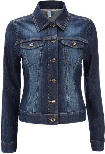 Petite Blue Denim Jacket