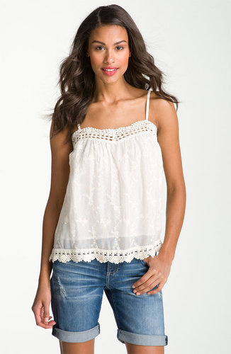 Lucky Brand &#039;Lexi&#039; Crochet Lace Camisole
