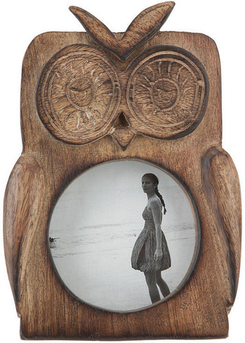 Wooden Owl Frame