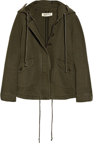 TEXTILE Elizabeth and James Robinson cotton-canvas parka