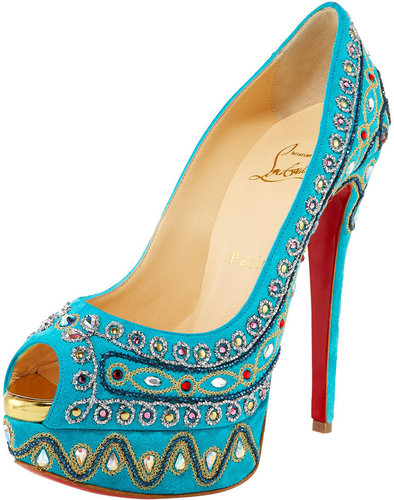Christian Louboutin Bollywoody Suede Pump