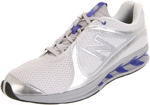 New Balance Women's WW855 Toning Shoe,Grey/Blue,8 D US