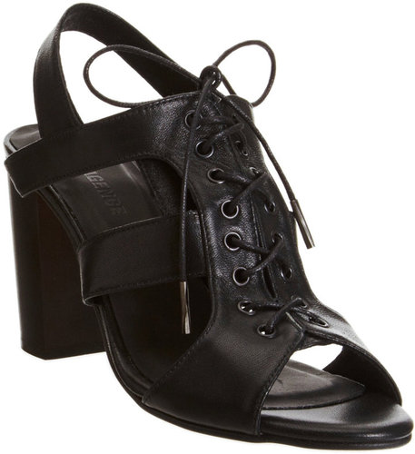 L&#039;Agence Lace-Up Sandal