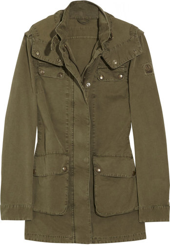 Belstaff Prescot hooded cotton-twill parka