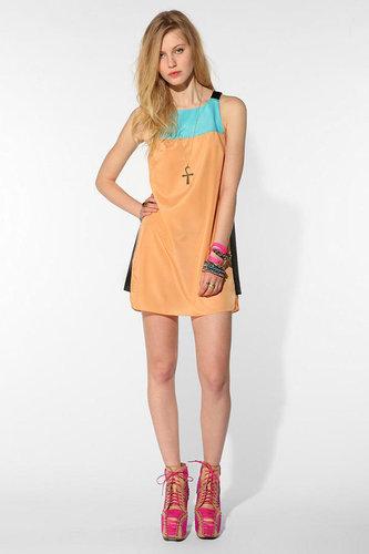 Shakuhachi Block Party Mini Dress
