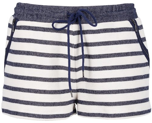 Victoria Beckham Denim stripe short