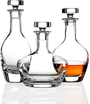 Villeroy &amp; Boch Barware, Scotch Whiskey Carafe Collection