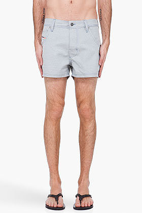 DIESEL Grey Sharck Swim Shorts